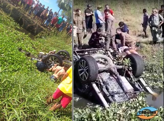 Tragédia; Jovem de 20 anos perde a vida em acidente na manhã deste domingo em Cajazeiras.