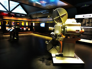 Projetor, Paineis e Cartazes no Museu do Festival de Cinema de Gramado