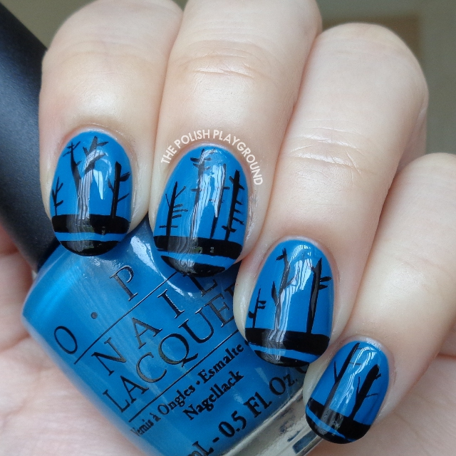 The Road Book Inspired Nail Art