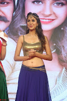 Malvika Raaj in Golden Choli and Skirt at Jayadev Pre Release Function 2017 ~  Exclusive 117.JPG