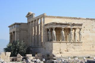 athens acropolis temple caryatids