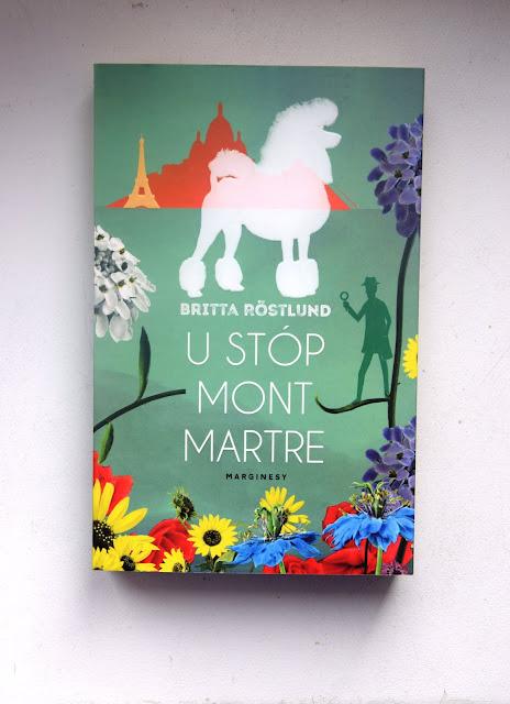 """Recenzje #80 - """"U stóp Montmartre"""" - okładka książki pt. """"U stóp Montmartre"""" - Francuski przy kawie"""