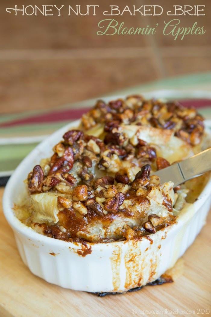 http://cupcakesandkalechips.com/2015/03/29/honey-nut-baked-brie-bloomin-apples/