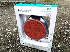 Logitech Mobile Wireless Speaker X100 Terbaik!