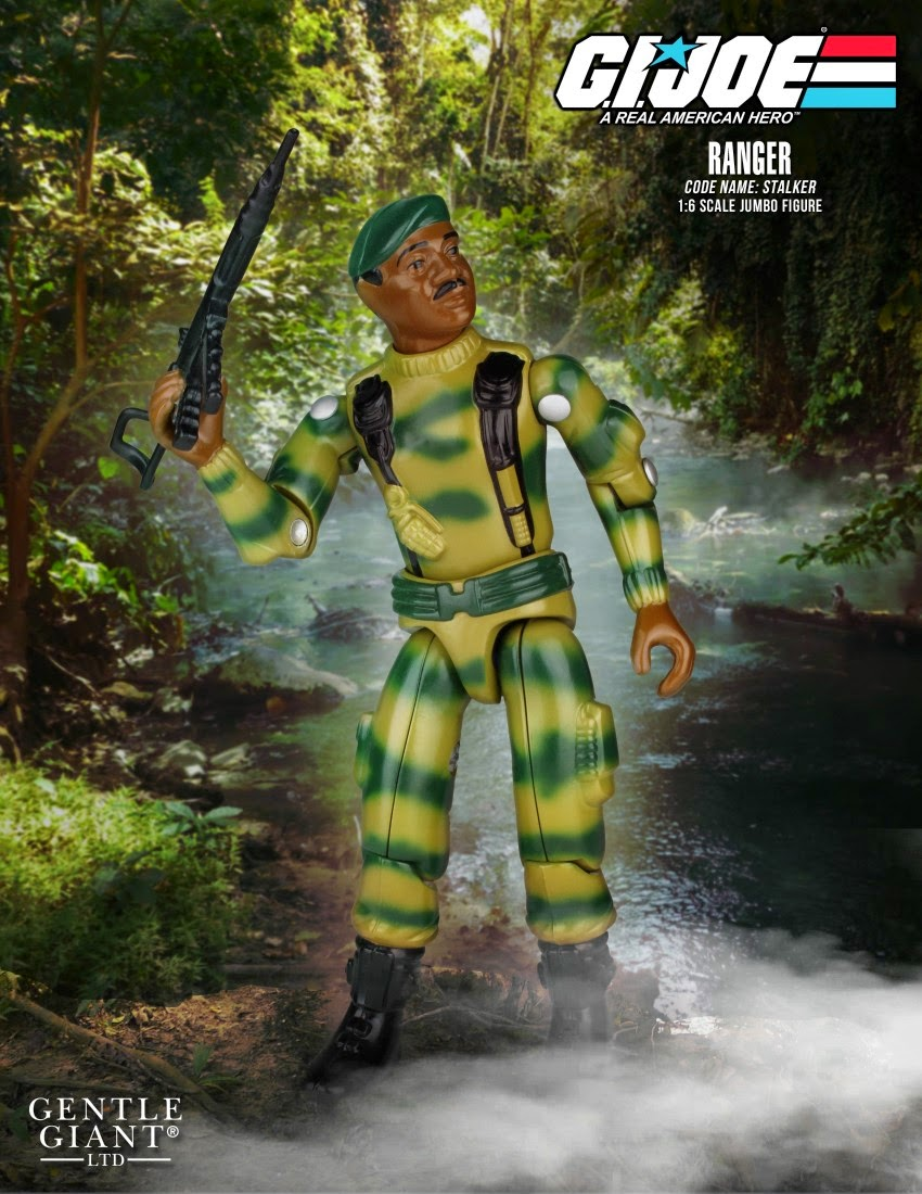 "Stalker 12"" Jumbo Vintage G.I. Joe Action Figure by Gentle Giant"