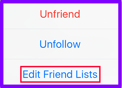 How To Edit Friend List In Facebook