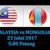 Live Streaming Malaysia U23 vs Mangolia U23