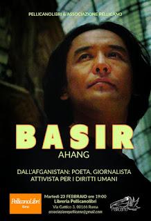 Incontro con l'autore Basir Ahang, Pellicanolibri