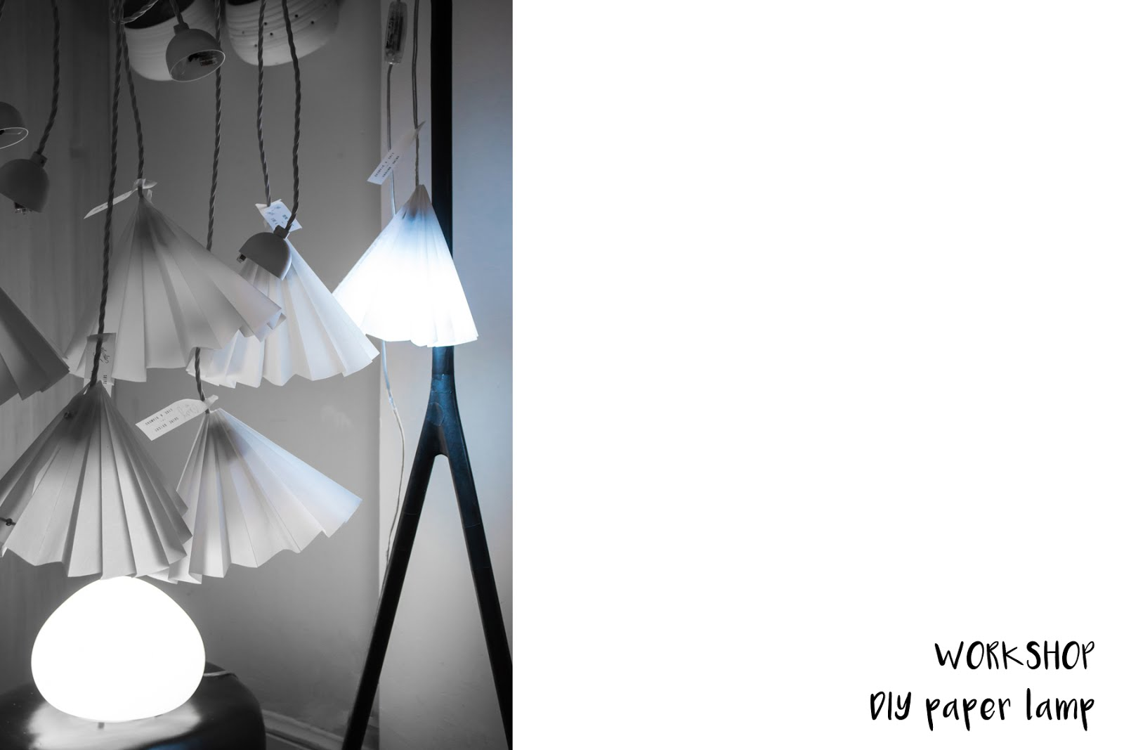 Philips hue, wireless light, wellbeing, event, hotel julien antwerp, diy paper lamp