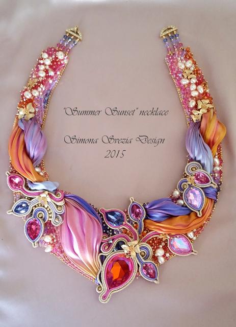 Gorgeous Shibori Ribbon Beaded Jewelry By Perline E Bijoux