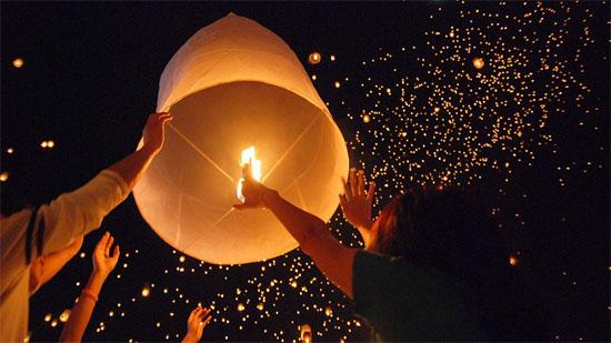 Balão lanterna chinesa