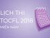 Lịch thi TOCFL năm 2018 khu vực miền Nam