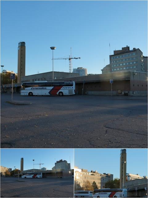 linja-autoasema, vanha linja-autoasema, Lahti
