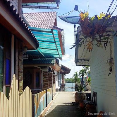 Tailandia - Vila flutuante muçulmana de Koh Panyee Island