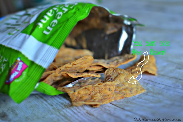 Green Giant Roasted Veggie Tortilla Chips Garden Ranch