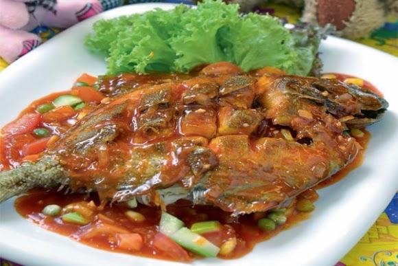 resepi ikan bawal resepi bergambar Resepi Ikan Kembung Bakar Pedas Manis Enak dan Mudah