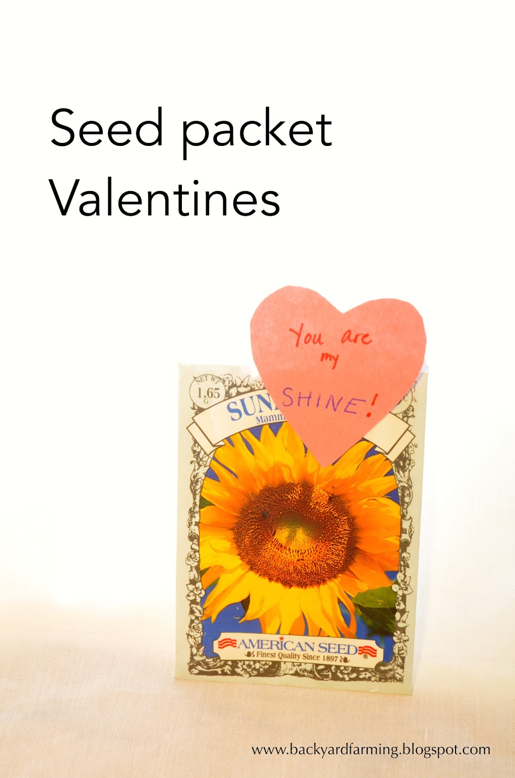 backyard farming seed packet valentines