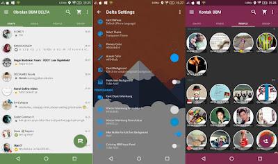 BBM MOD Android Delta v2.13.1.14 Terbaru