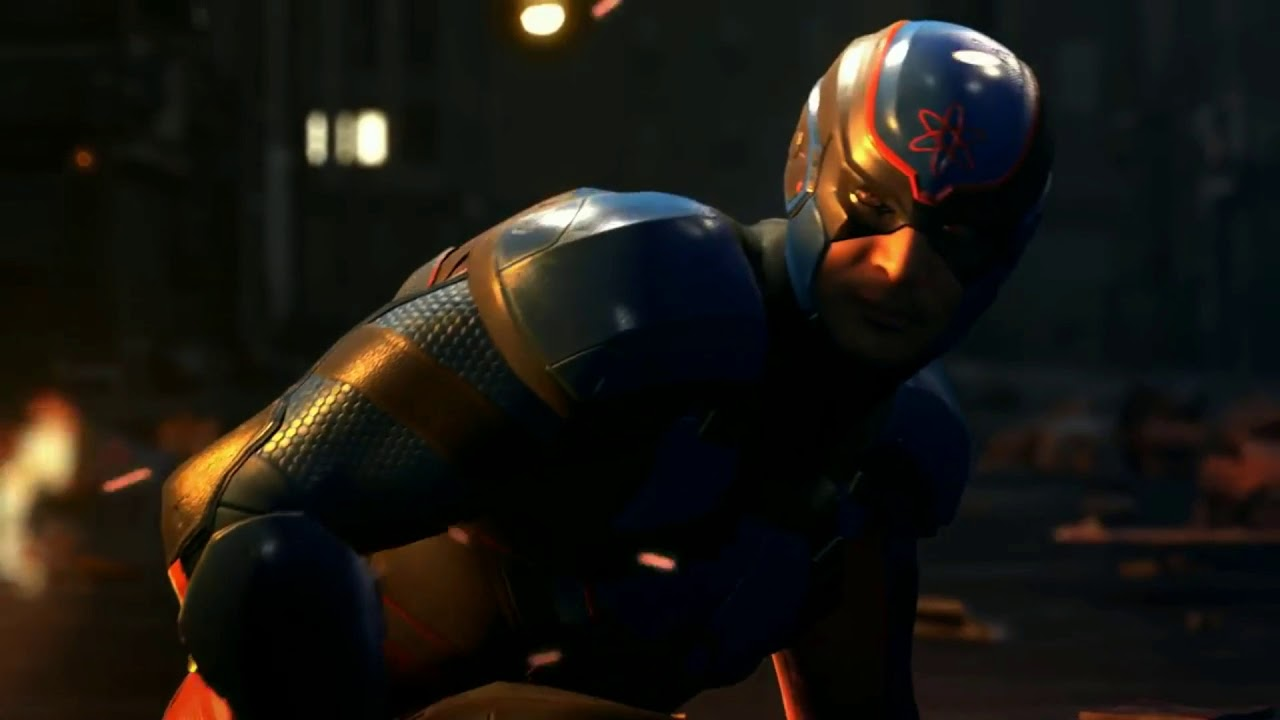 Injustice 2 : The Atom Showcases His Subatomic Power In New Gameplay Trailer.