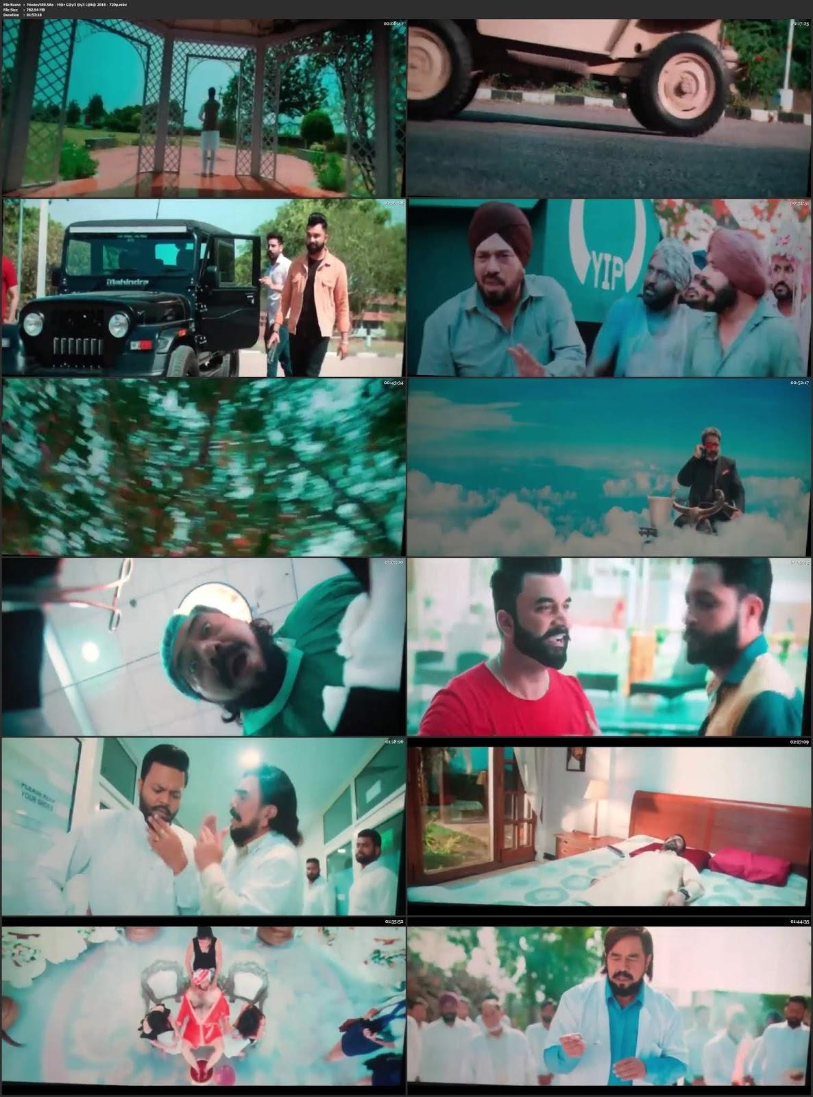 Mar Gaye Oye Loko 2018 Punjabi 300MB Movie HDTS 480p