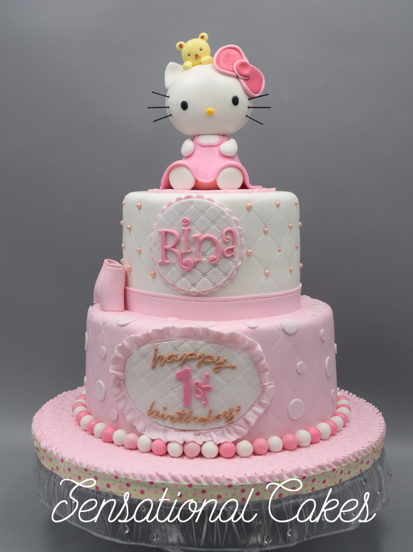 The Sensational Cakes A Very Fine Hello Kitty Sugarcrafted 3d Cake