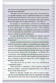 News: O Livro Negro, The 39 Clues. 24