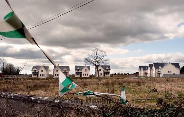 Irlande vue de dublin ghost estates ou les fant mes d 39 irlande for Acheter une maison en irlande