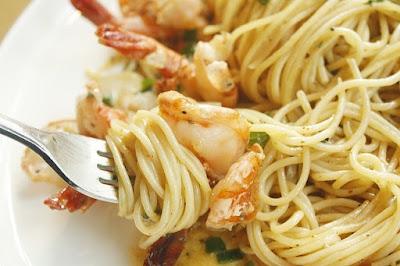 spaghetti-udang