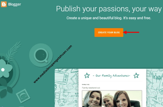 Create Your Blog