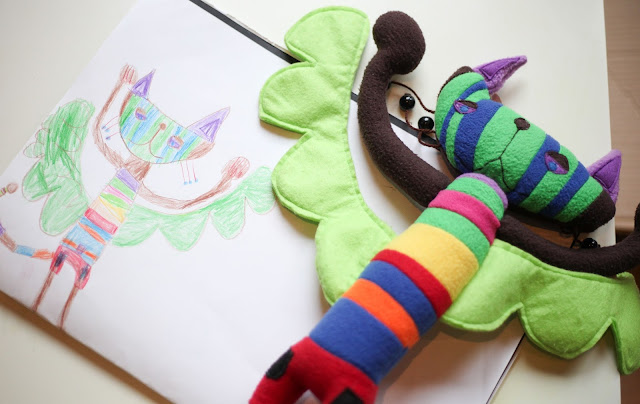 designing a soft toy