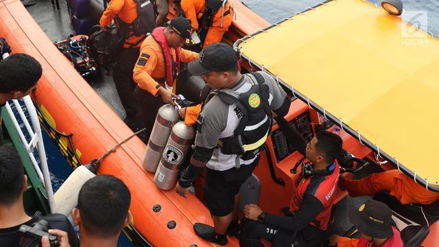 Penyelam dari Tim Basarnas meninggal saat mencari korban kecelakaan pesawat Lion Air JT 610