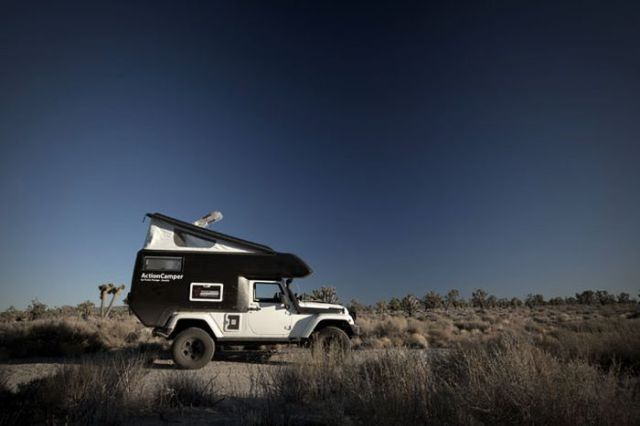 Waiting BD: Cool Expedition Camper for Jeep Wrangler!