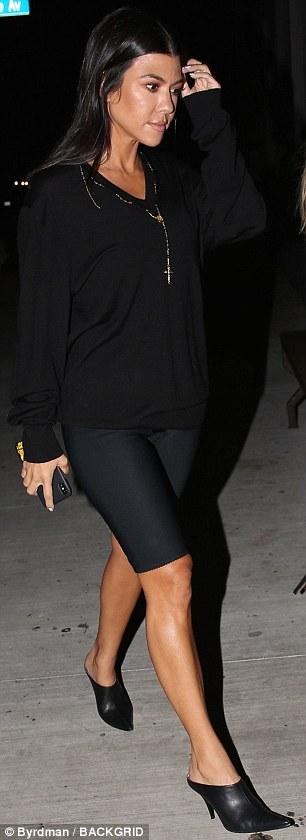 Kourtney Kardashian, 39, spotted leaving church with new love Luka Sabbat, 20