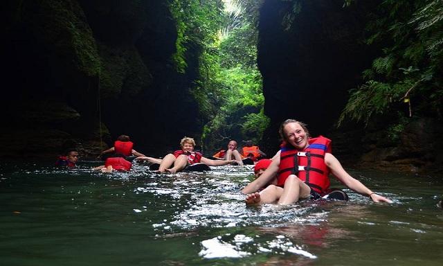 Paket Goa Lanang River Tubing