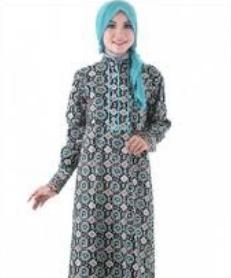 model baju batik gamis 2017