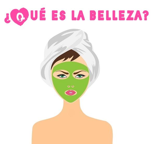 mujer con mascarilla/belleza