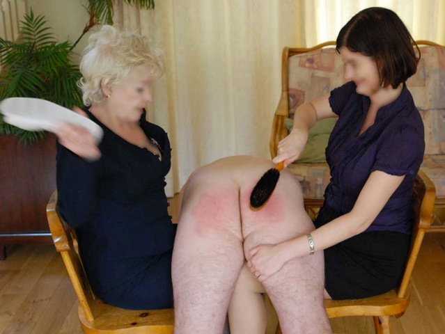 Mother-In-Law Discipline Spanking