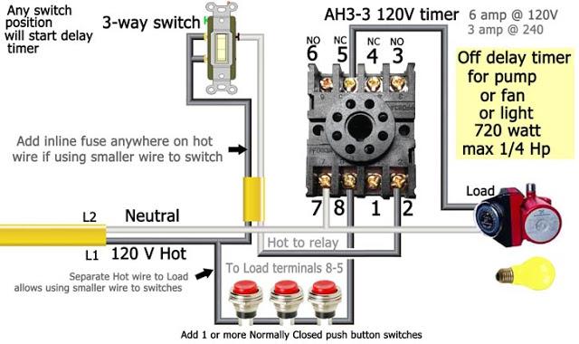 120volt Delay Timer Wiring