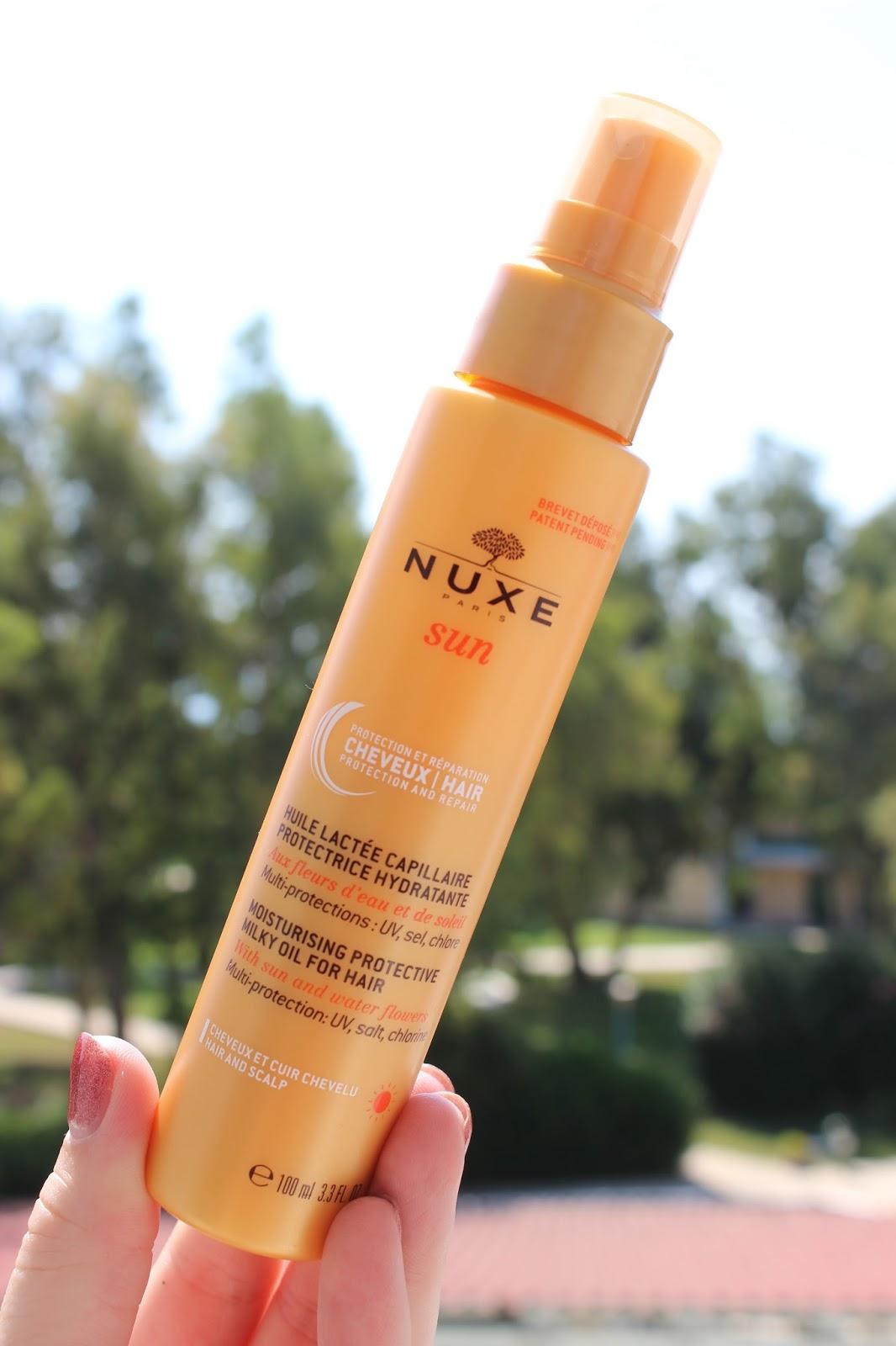 Summer Hair Savour: NUXE Sun Moisturising Protective Milky Oil