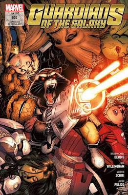 Marvels GUARDIANS OF THE GALAXY 2 - aus dem Panini-Verlag