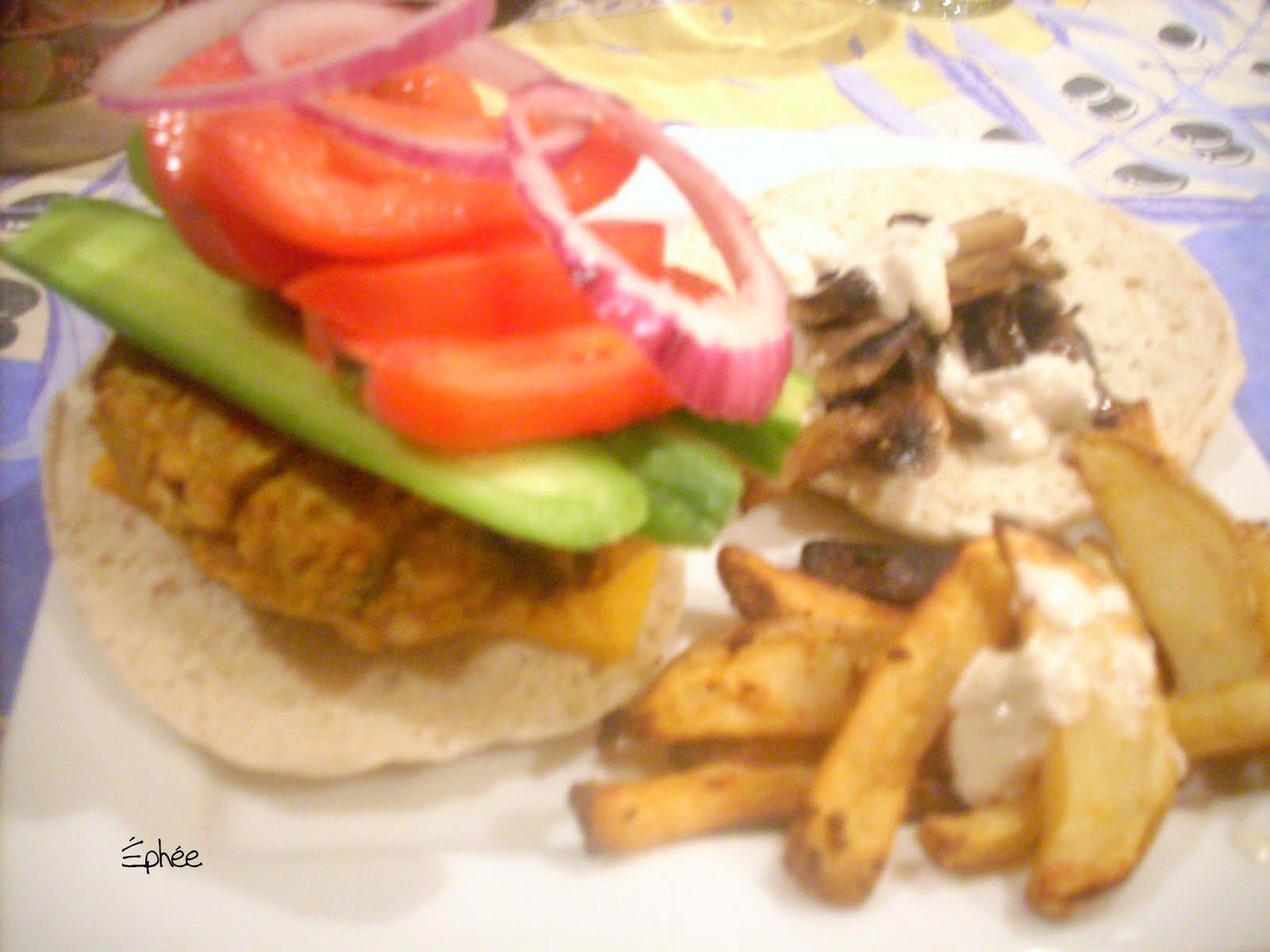 Hamburger la courge et aux pois chiches - Cuisiner des pois chiches ...