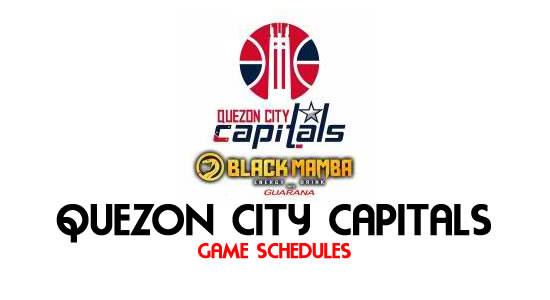 LIST: Game Schedule Quezon City Capitals 2018 MPBL Anta Datu Cup