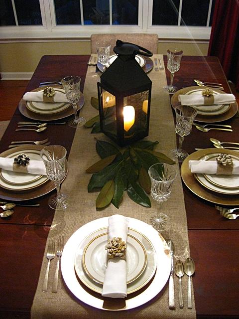 Eat Sleep Decorate Easy Elegant Thanksgiving Table