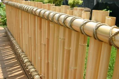 Cara Mudah Membuat Pagar Bambu Unik Untuk Rumah Minimalis 6