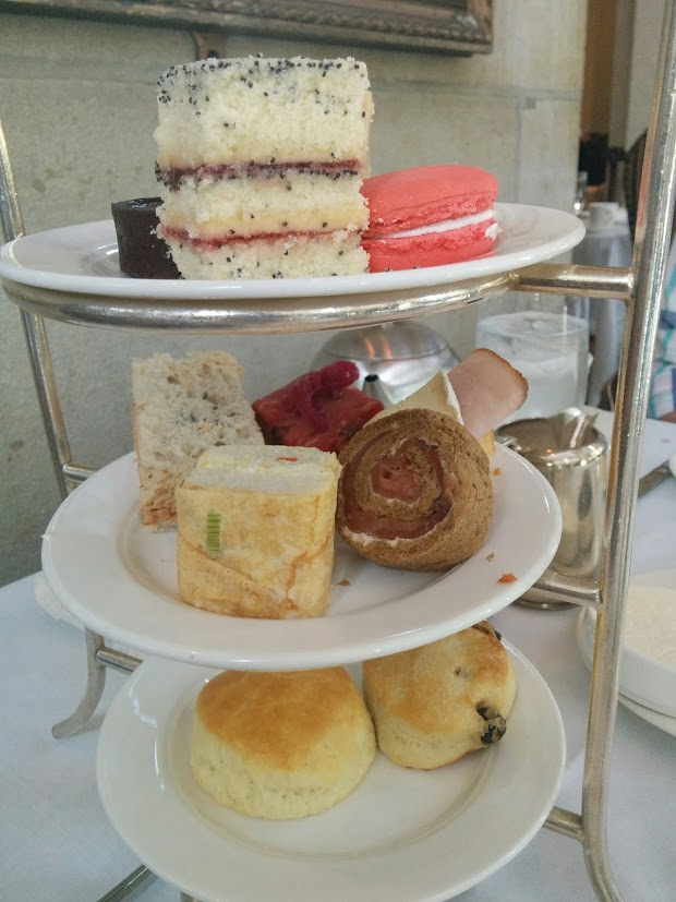 Afternoon tea at Fairmont Chateau Laurier Ottawa Ontario