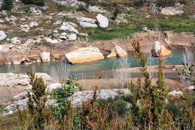 Rio Noguera Pallaresa en el Montsec
