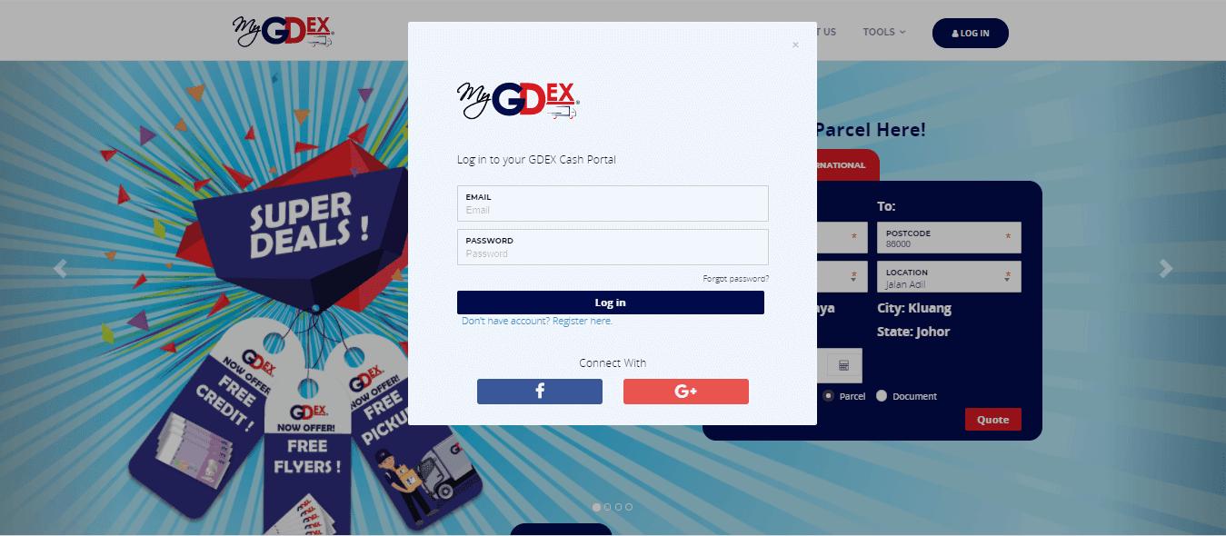 Pos Parcel Dari Rumah Dengan myGDEX - Mudah, Murah dan Cepat
