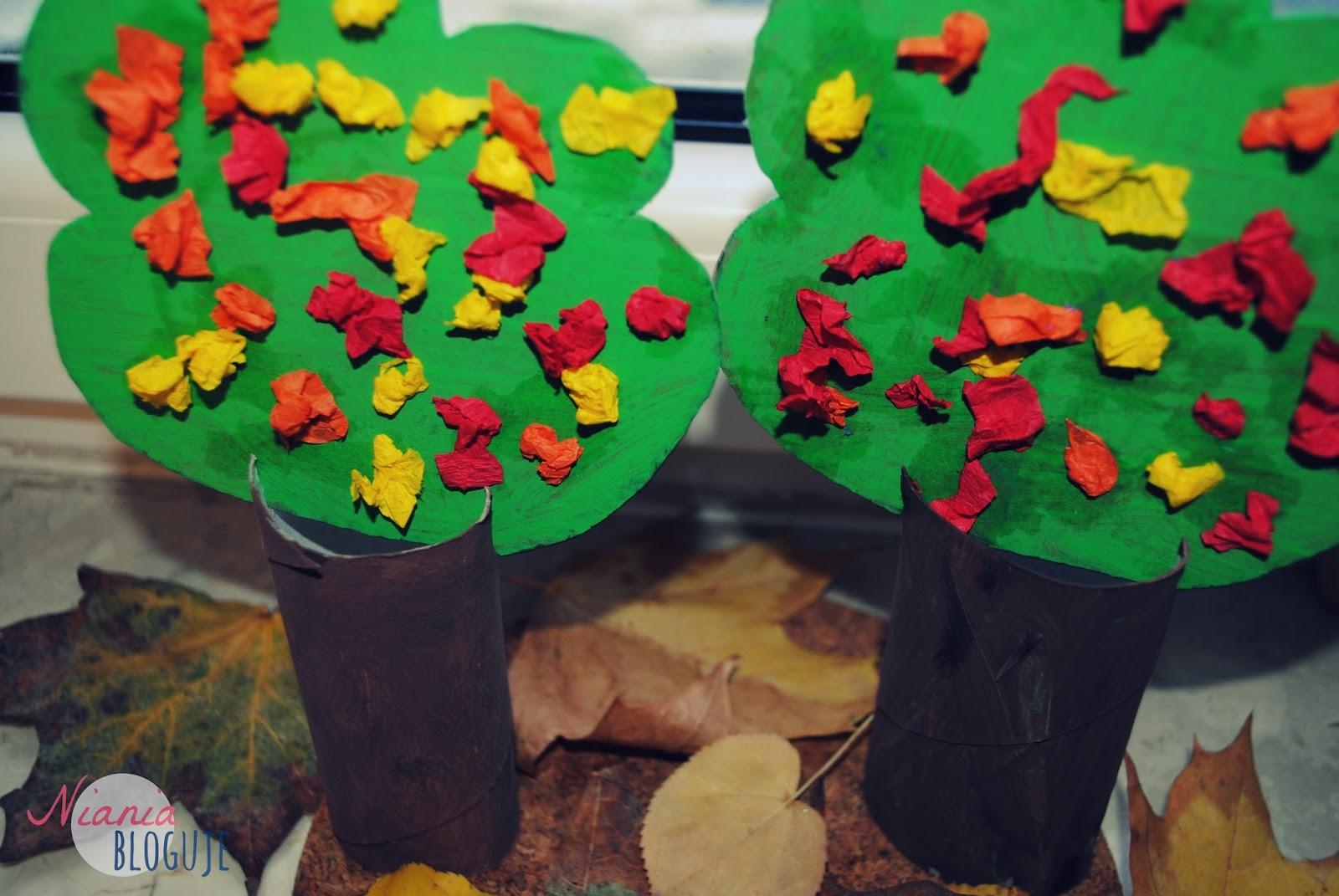 Niania Bloguje Jesienne Drzewa