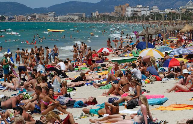 Δεν έχουν τι να κάνουν τους τουρίστες στην Ισπανία