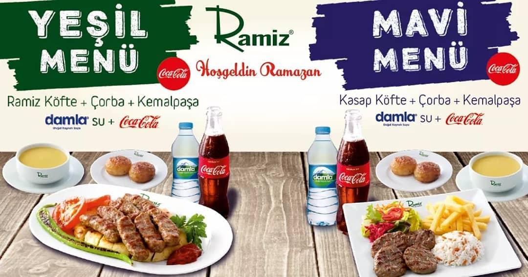 köfteci ramiz ramazan menüsü köfteci ramiz menü fiyatları köfteci ramiz fiyat listesi